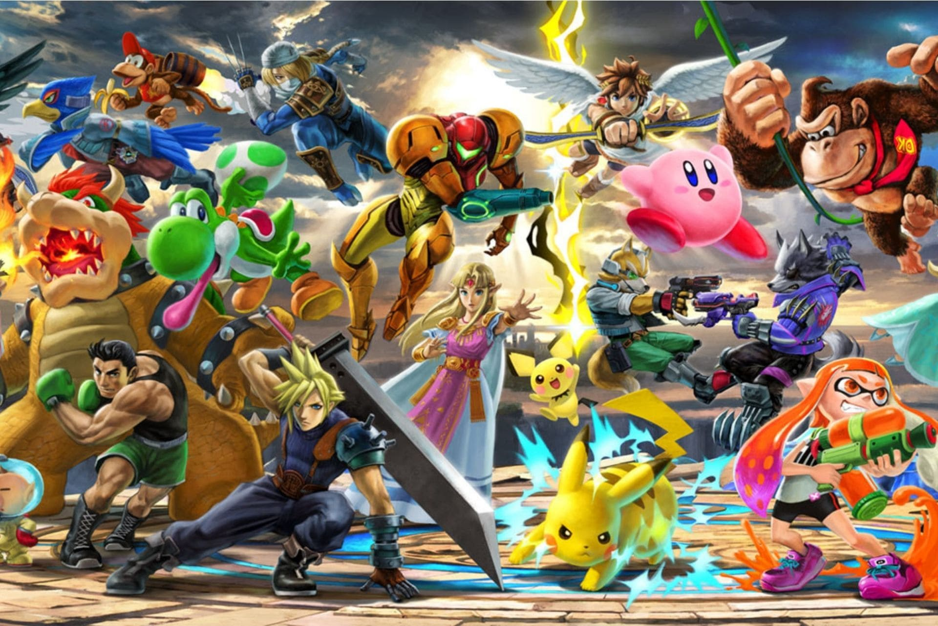 All of the New Smash Bros Ultimate DLC Characters